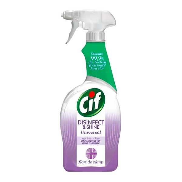 Cif Disinfect and Shine Flori de câmp împușcat